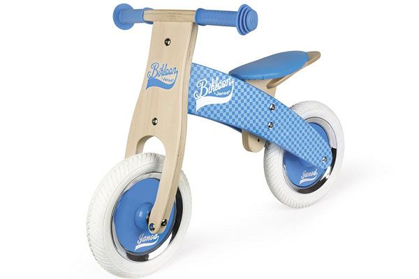 My first balance bike blauw