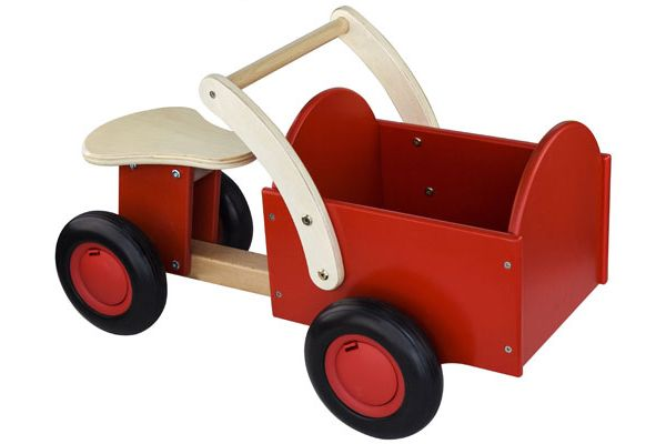 New Classic Toys - Classic bakfiets rood