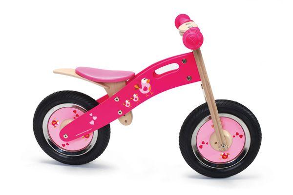 Scratch starter hout pink bird - Deco slaapkamer meisje jaar ...