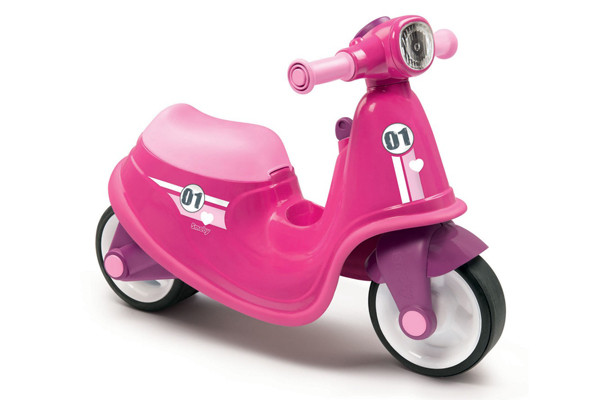 Scooter Ride On Roze
