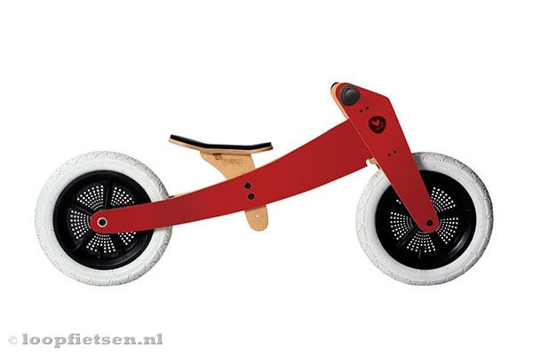 Wishbone Wishbonebike Rood 2 In 1 Limited Edition Loopfietsennl