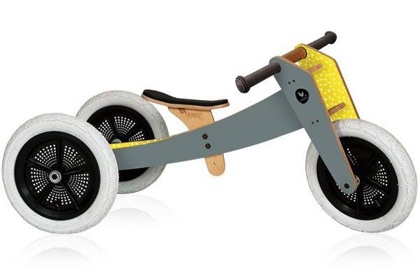Wishbonebike grijs 3 in 1 Limited Edition