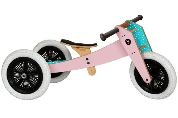 Wishbonebike roze 3 in 1 Limited Edition.
