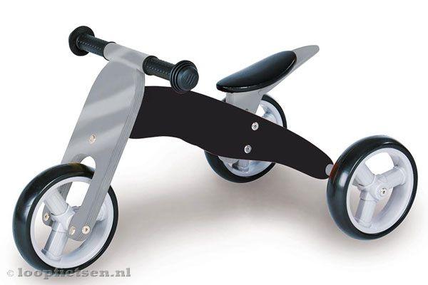 Smart bike 4in1 zwart