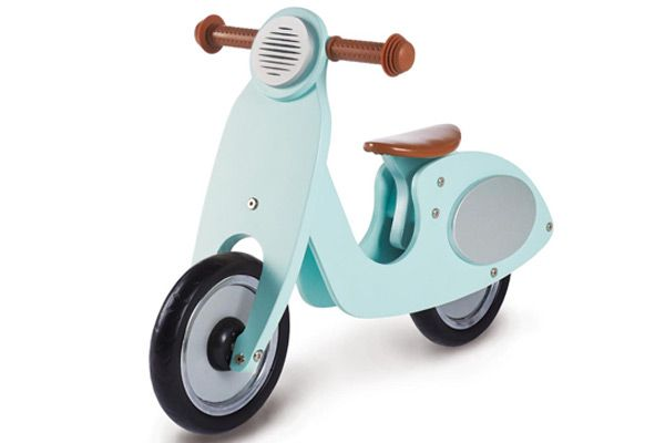 Vespa loopfiets mint.